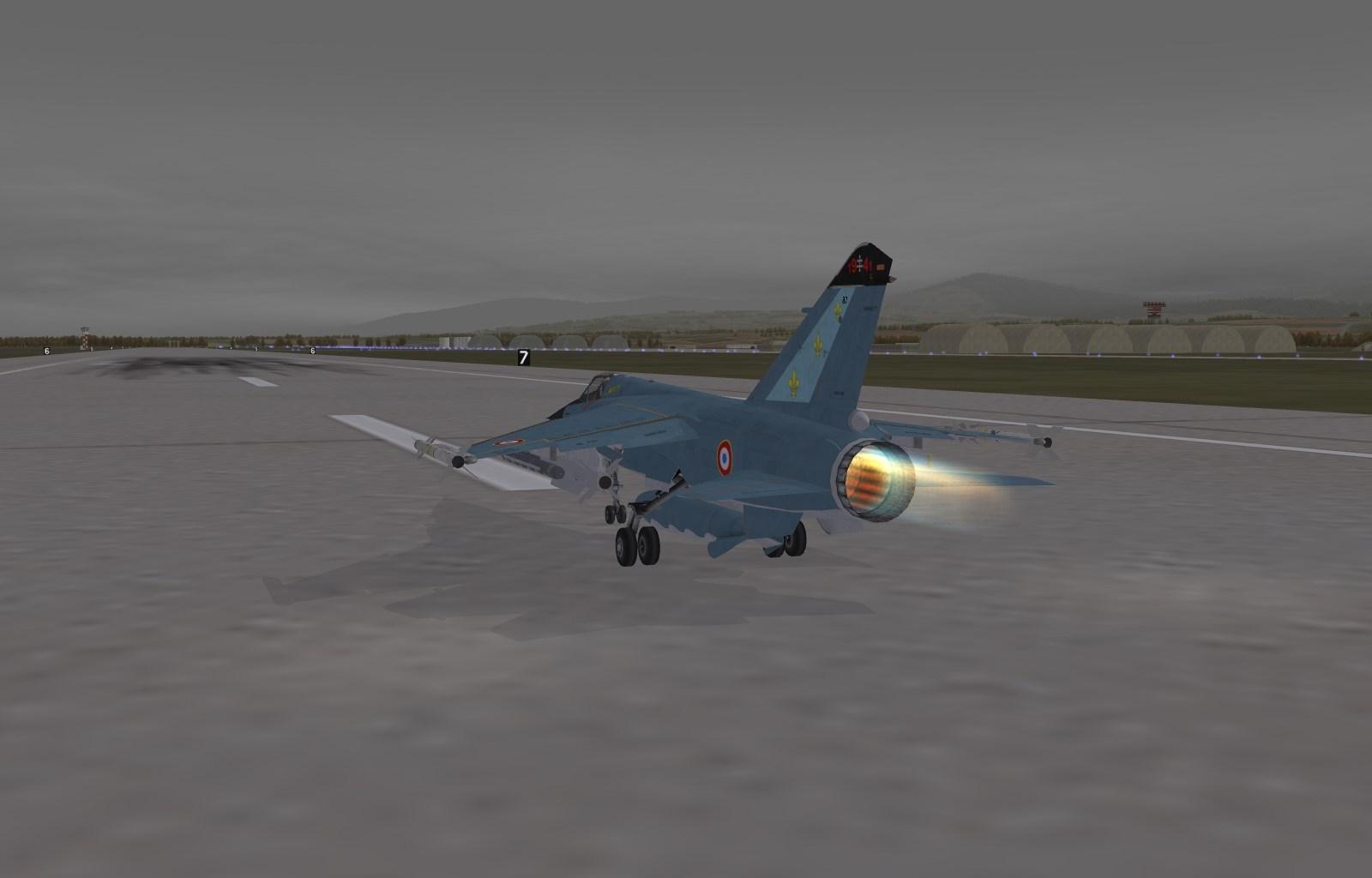 Mirage IIIE in 1968