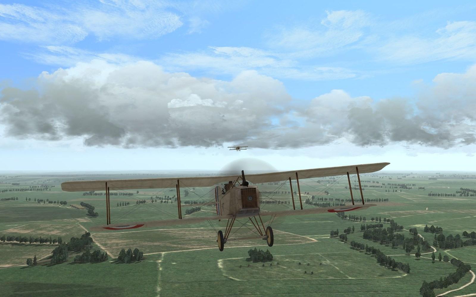 BR7 reconj mission, april 1918