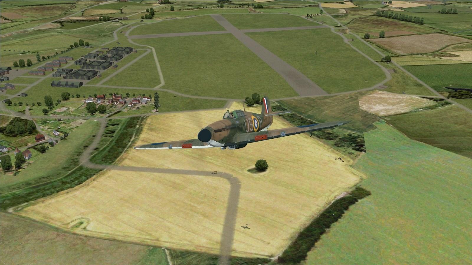 Battle of Britain II - Hurricane I, 56 Squadron at Hawkinge
