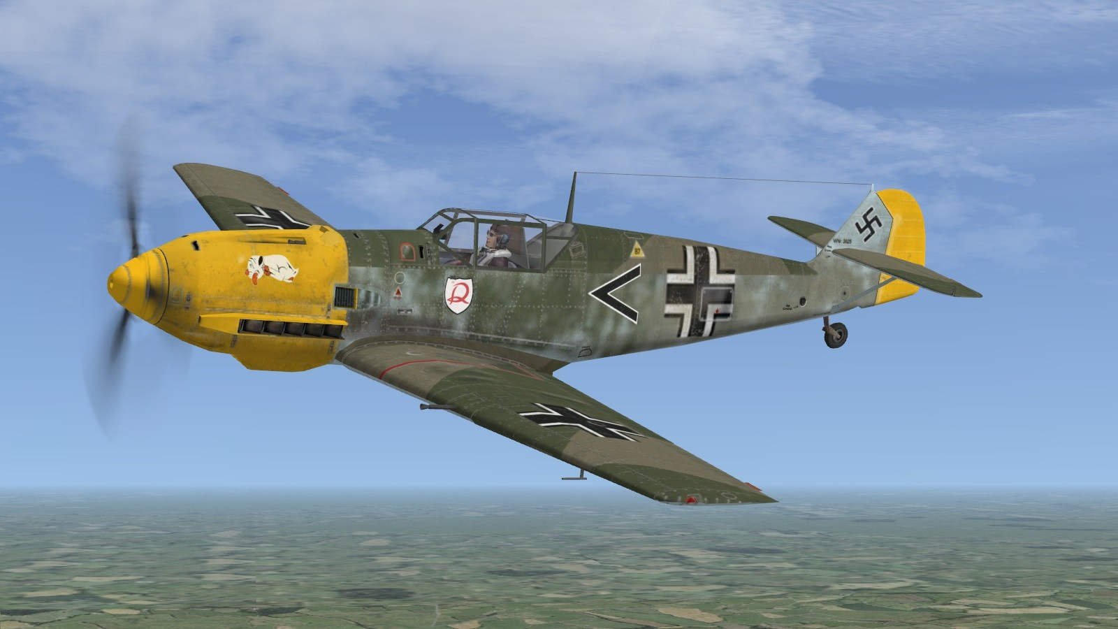 Battle of Britain II - Bf109E-4, I/JG2