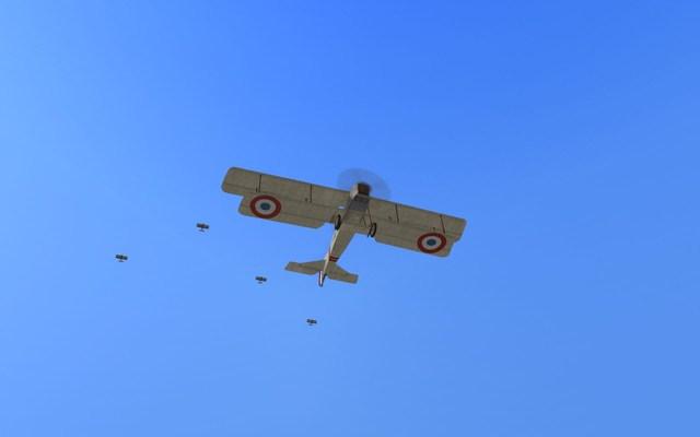 Br7 patrol under escort