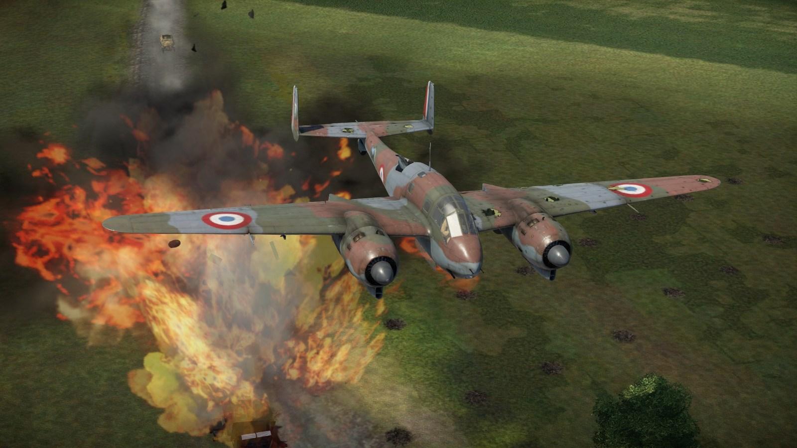 05/1940 BR693 attacking German convoys