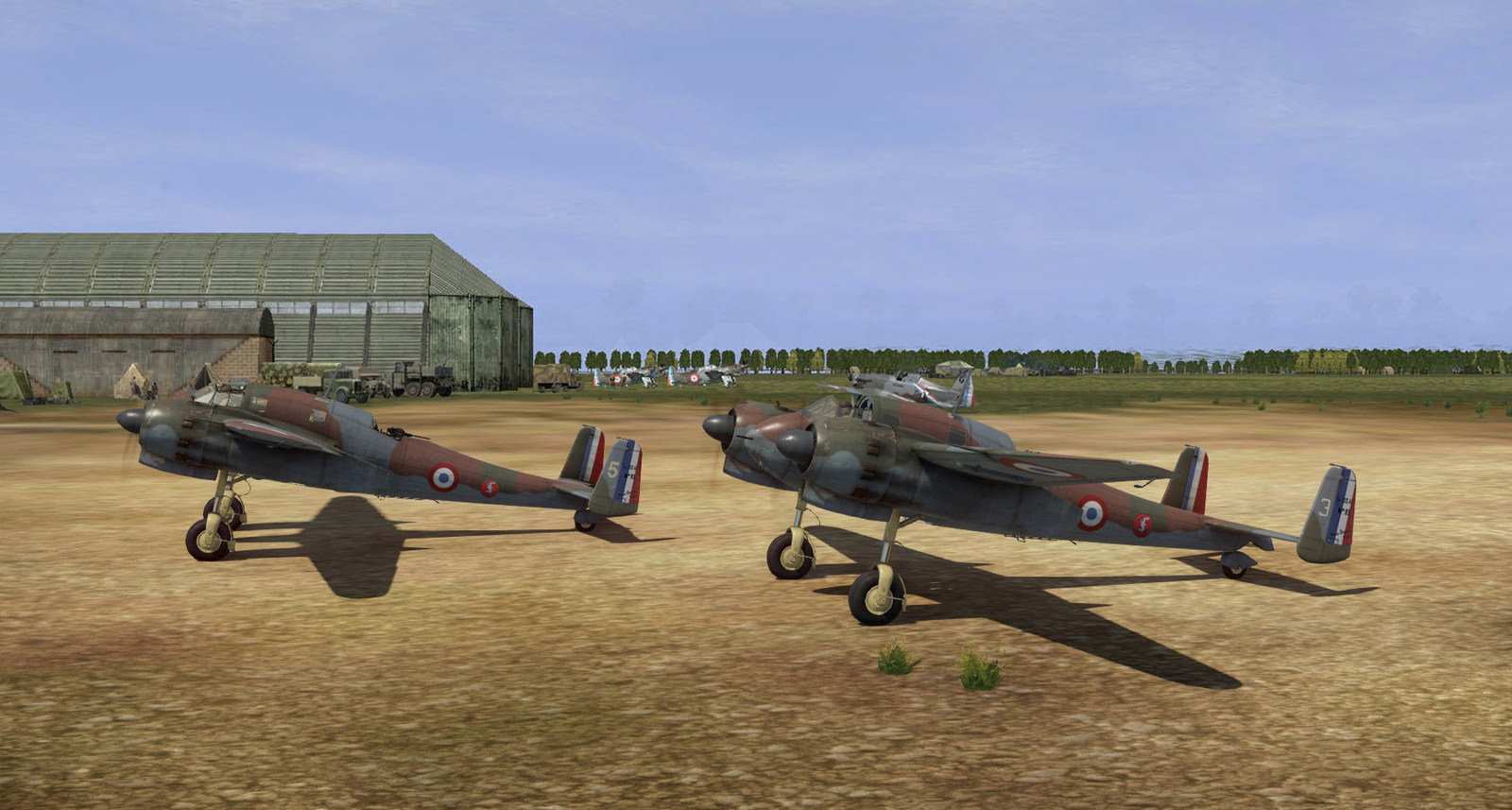 05/1940 North of France. BR693s ready to take off.