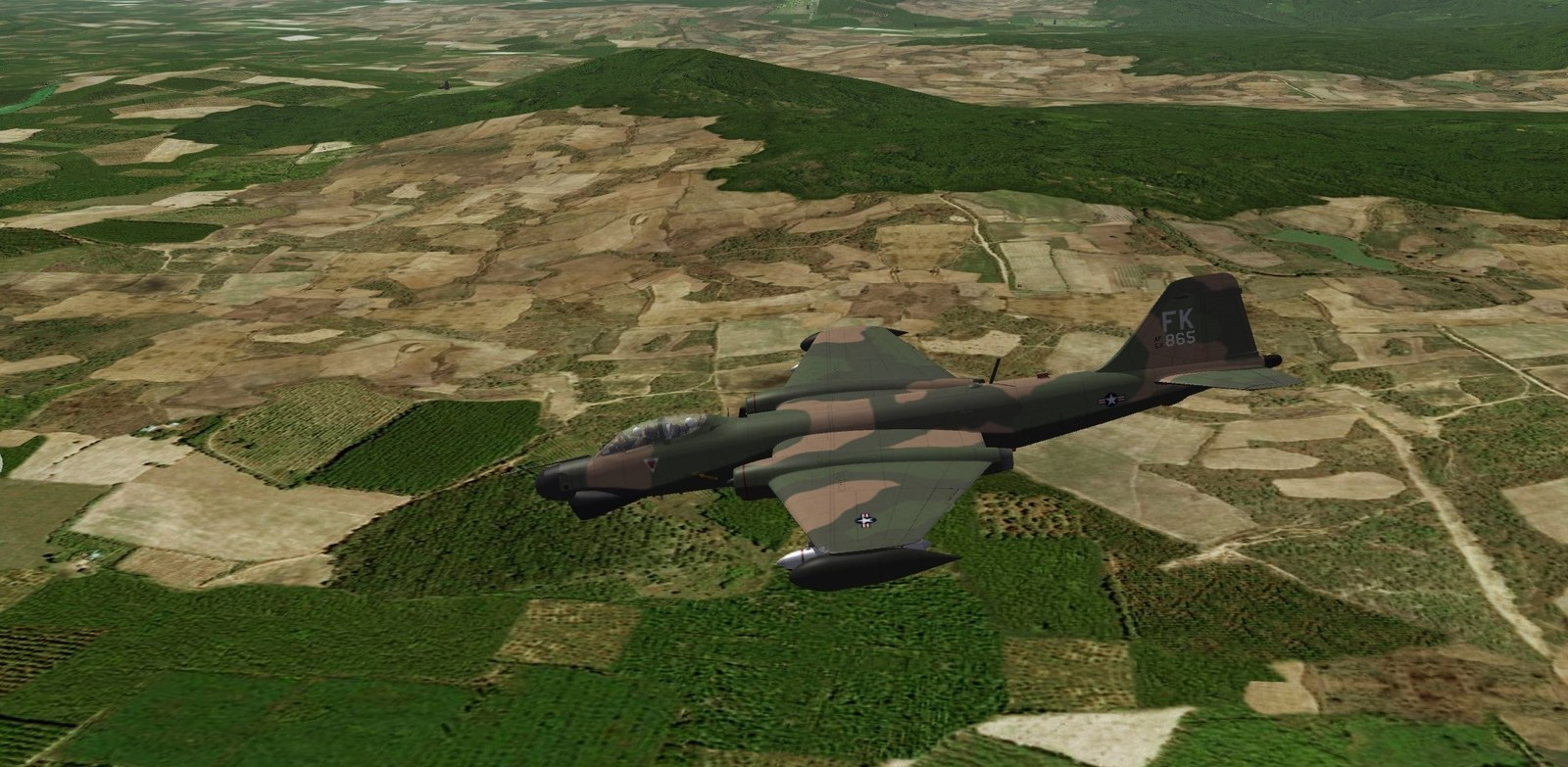 One day over Vietnam