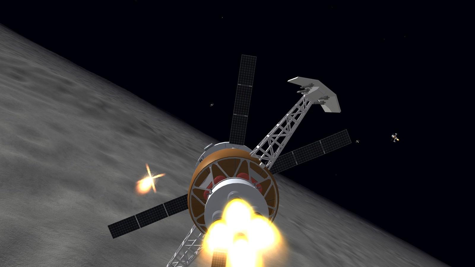Spacewinder firing