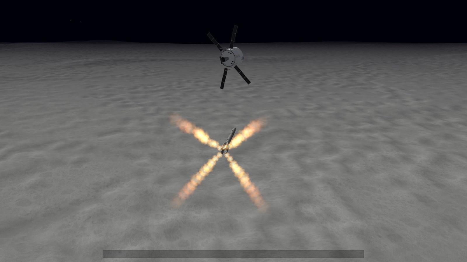 IR missile steering to its target