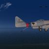 Messerschmitt Me262T-1 Landing